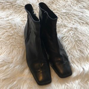 SestoSoft Women's Boots made in Italy 7 1/2 Black